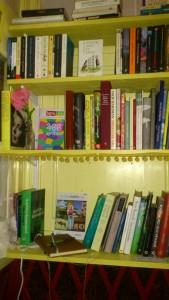 I bokkiosken finns även en gästbok, skriv gärna några rader under ditt besök.